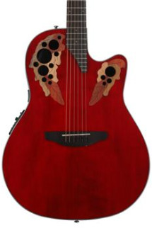 Ovation Elite Celebrity - Ruby Red