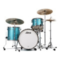 Ludwig Classic Maple Fab 22 Shell Pack - Teal Sparkle