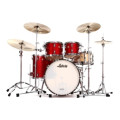 Ludwig Classic Maple Mod 22 Shell Pack - Red Sparkle