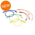 Hosa CMM-500Y-MIX Hopscotch Patch Cables 5-pack - Various LengthsCMM-500Y-MIX Hopscotch Patch Cables 5-pack - Various Lengths