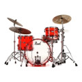 Pearl Crystal Beat Shell Pack 3-pc - Ruby Red