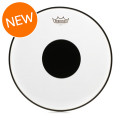 Remo Controlled Sound Clear/Black Dot Drumhead - 15