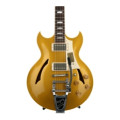 Gibson Custom Johnny A. Standard Bigsby - Antique Gold (top)
