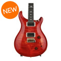PRS Custom 22 10-Top - Blood Orange with Pattern Regular NeckCustom 22 10-Top - Blood Orange with Pattern Regular Neck
