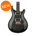 PRS Custom 22 10-Top - Charcoal Burst with Pattern Regular NeckCustom 22 10-Top - Charcoal Burst with Pattern Regular Neck