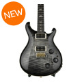 PRS Custom 22 Piezo 10-Top - Charcoal Burst with Pattern NeckCustom 22 Piezo 10-Top - Charcoal Burst with Pattern Neck
