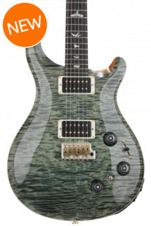 PRS Custom 22 Piezo 10-Top - Trampas Green with Pattern Neck
