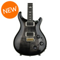 PRS Custom 22 Piezo Figured Top - Charcoal Burst with Pattern Neck