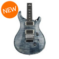 PRS Custom 24 Floyd Rose 10-Top - Faded Whale Blue with Pattern Thin NeckCustom 24 Floyd Rose 10-Top - Faded Whale Blue with Pattern Thin Neck