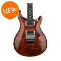 PRS Custom 24 Floyd Rose 10-Top - Orange Tiger with Pattern Thin NeckCustom 24 Floyd Rose 10-Top - Orange Tiger with Pattern Thin Neck