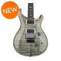 PRS Custom 24 Floyd Rose 10-Top - Trampas Green with Pattern Thin Neck
