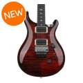 PRS Custom 24 Floyd Rose Figured Top - Fire Red Burst with Pattern Thin Neck