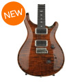 PRS Custom 24 Figured Top - Orange Tiger with Pattern Thin NeckCustom 24 Figured Top - Orange Tiger with Pattern Thin Neck