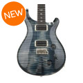 PRS Custom 22 Figured Top - Faded Whale Blue with Pattern Regular NeckCustom 22 Figured Top - Faded Whale Blue with Pattern Regular Neck