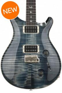 PRS Custom 22 Figured Top - Faded Whale Blue with Pattern Neck