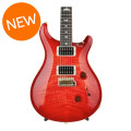 PRS Custom 24 10-Top - Blood Orange with Pattern Regular Neck