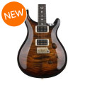 PRS Custom 24 10-Top - Black Gold Wrap Burst with Pattern Regular NeckCustom 24 10-Top - Black Gold Wrap Burst with Pattern Regular Neck