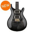 PRS Custom 24 10-Top - Charcoal Burst with Pattern Regular NeckCustom 24 10-Top - Charcoal Burst with Pattern Regular Neck