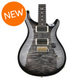PRS Custom 24 10-Top - Charcoal Burst with Pattern Thin NeckCustom 24 10-Top - Charcoal Burst with Pattern Thin Neck