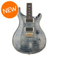 PRS Custom 24 10-Top - Faded Whale Blue with Pattern Regular NeckCustom 24 10-Top - Faded Whale Blue with Pattern Regular Neck