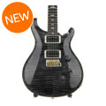 PRS Custom 24 10-Top - Gray Black with Pattern Thin Neck