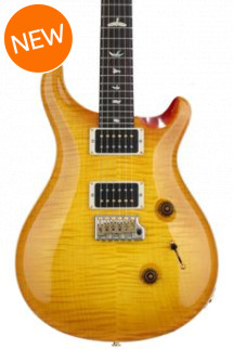 PRS Custom 24 10-Top - McCarty Sunburst with Pattern Thin Neck