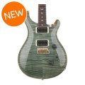 PRS Custom 24 10-Top - Trampas Green with Pattern Regular Neck