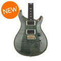 PRS Custom 24 10-Top - Trampas Green with Pattern Thin Neck
