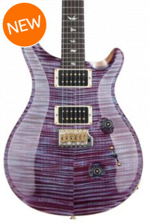 PRS Custom 24 10-Top - Violet with Pattern Thin Neck