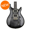 PRS Custom 24 Figured Top - Charcoal Burst with Pattern Regular NeckCustom 24 Figured Top - Charcoal Burst with Pattern Regular Neck