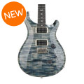 PRS Custom 24 Figured Top - Faded Whale Blue with Pattern Regular NeckCustom 24 Figured Top - Faded Whale Blue with Pattern Regular Neck