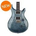 PRS Custom 24 Figured Top - Faded Whale Blue with Pattern Thin Neck
