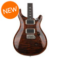 PRS Custom 24 Figured Top - Orange Tiger with Pattern Regular Neck