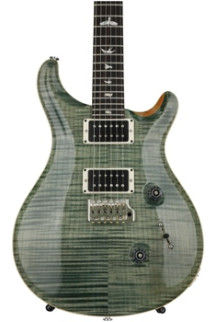 PRS Custom 24 Figured Top - Trampas Green with Pattern Regular Neck