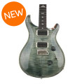 PRS Custom 24 Figured Top - Trampas Green with Pattern Thin Neck