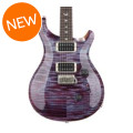 PRS Custom 24 Figured Top - Violet with Pattern Thin Neck