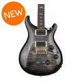 PRS Custom 24 Piezo, 10-Top - Charcoal Burst with Pattern Regular NeckCustom 24 Piezo, 10-Top - Charcoal Burst with Pattern Regular Neck