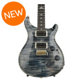 PRS Custom 24 Piezo 10-Top - Faded Whale Blue with Pattern Regular NeckCustom 24 Piezo 10-Top - Faded Whale Blue with Pattern Regular Neck