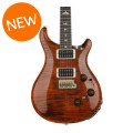 PRS Custom 24 Piezo 10-Top - Orange Tiger with Pattern Regular Neck