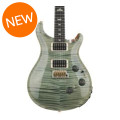 PRS Custom 24 Piezo 10-Top - Trampas Green with Pattern Regular NeckCustom 24 Piezo 10-Top - Trampas Green with Pattern Regular Neck