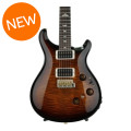 PRS Custom 24 Piezo 10-Top - Black Gold Wrap Burst with Pattern Thin Neck
