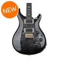 PRS Custom 24 Piezo, 10-Top - Charcoal Burst with Pattern Thin NeckCustom 24 Piezo, 10-Top - Charcoal Burst with Pattern Thin Neck