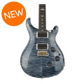 PRS Custom 24 Piezo, 10-Top - Faded Whale Blue with Pattern Thin NeckCustom 24 Piezo, 10-Top - Faded Whale Blue with Pattern Thin Neck