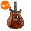 PRS Custom 24 Piezo, 10-Top - Orange Tiger with Pattern Thin NeckCustom 24 Piezo, 10-Top - Orange Tiger with Pattern Thin Neck