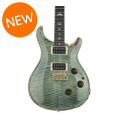 PRS Custom 24 Piezo 10-Top - Trampas Green with Pattern Thin NeckCustom 24 Piezo 10-Top - Trampas Green with Pattern Thin Neck