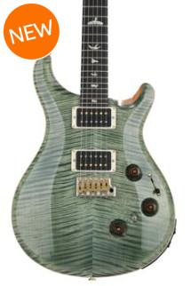 PRS Custom 24 Piezo 10-Top - Trampas Green with Pattern Thin Neck
