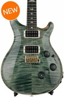 PRS Custom 24 Piezo - Trampas Green with Pattern Regular Neck