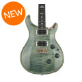 PRS Custom 24 Piezo Figured Top - Trampas Green with Pattern Thin Neck
