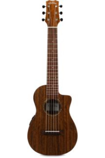 Cordoba Mini O CE Travel Guitar - Cutaway, A/E, Natural