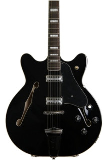 Fender Coronado Special Edition - Black with Rosewood Fingerboard